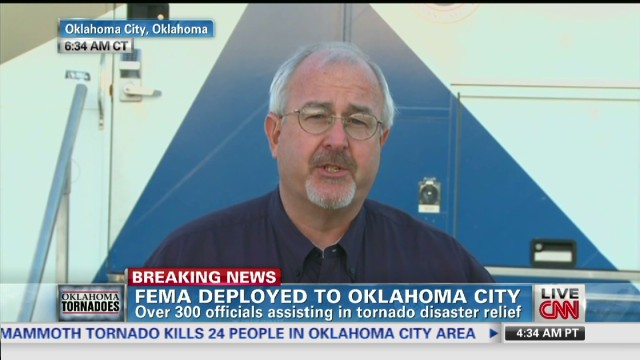 FEMA deployed to Oklahoma City
