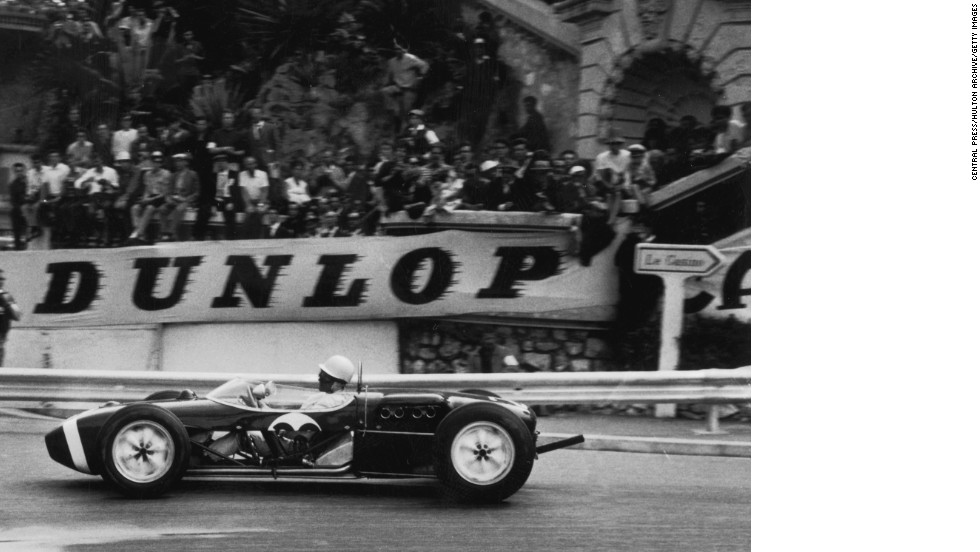 Monaco's street circuit is relatively unchanged since Formula One cars began racing there in 1950. Stirling Moss says his victory in Monaco in 1961, shown here, was the best race of his career.