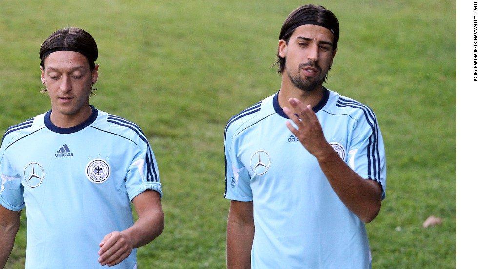 Mesut Ozil and Sami Khedira have become an integral part of Germany's new multicultural team under manager Joachim Low. The pair have established themselves as stars on the world stage with the national team and Spanish club side Real Madrid.
