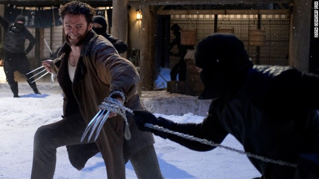 "Hugh Jackman stars in ""The Wolverine."""