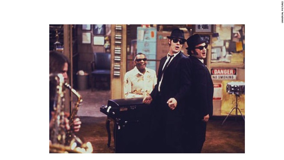 "<strong>""The Blues Brothers"" (1980)</strong>: Soulful and mischievous musicians Jake (John Belushi) and Elwood (Dan Aykroyd) weren't just buds but, as the title suggests, brothers, as well. The characters survived the jump from being a ""Saturday Night Live"" skit to landing on the big screen with ""a mission from God"" in 1980. ""Blues Brothers"" has since become a fan favorite and spawned a sequel in 1998."