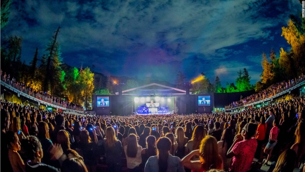 Set amid the trees of Griffith Park in the heart of Los Angeles, The Greek Theatre has hosted many talented artists in its 84-year history.