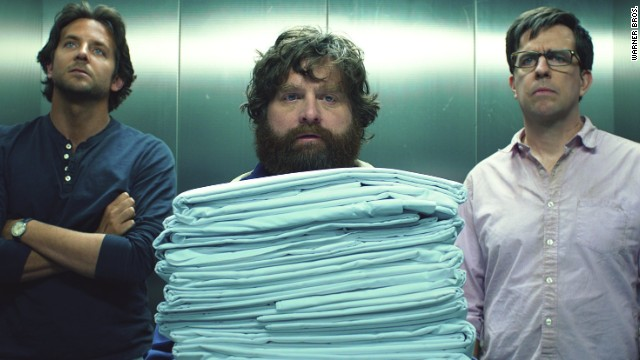 "Bradley Cooper, Zach Galifianakis and Ed Helms star in ""The Hangover Part III."""
