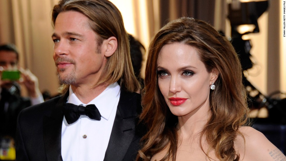 Pictured here, Pitt and Jolie arrive at the Academy Awards in February 2012 in Hollywood.