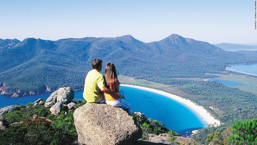 Wineglass Bay, Tasmania.