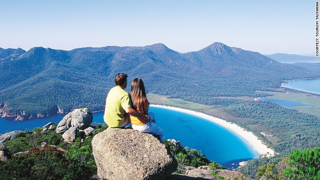 7. Wineglass Bay, Tasmania