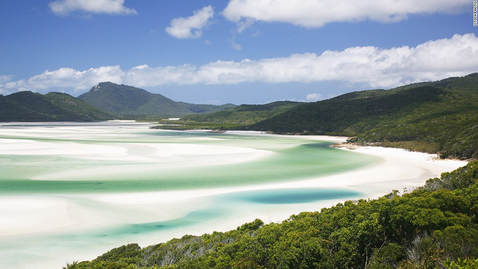 Whitehaven Beach, Queensland, Australia.