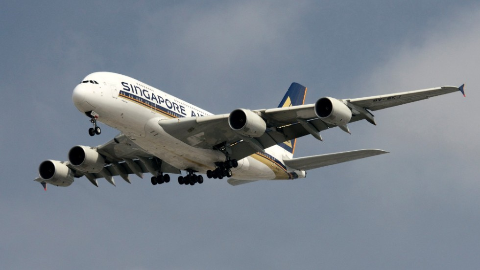 "The gigantic four-engine Airbus A380 is the world's largest passenger airplane. It's not too difficult to spot, if you're near its <a href=""http://www.airbus.com/aircraftfamilies/passengeraircraft/a380family/a380-routes/"" target=""_blank"">six destination airports in the U.S.: Washington's Dulles, New York's JFK, San Francisco, Los Angeles' LAX, Houston Intercontinental and Miami International.</a>"