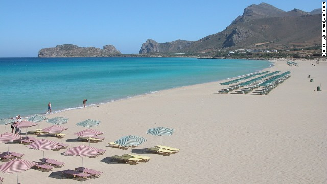 100. Falassarna Beach, Crete, Greece