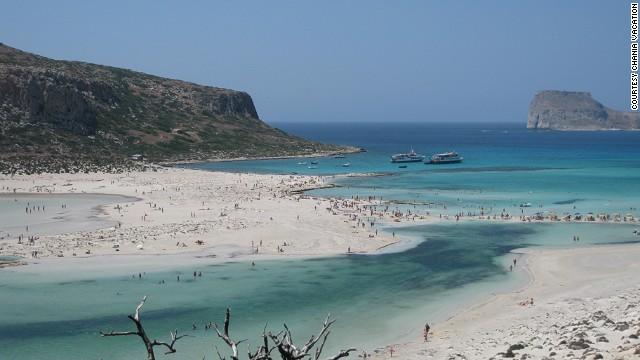 35. Balos Beach, Greece