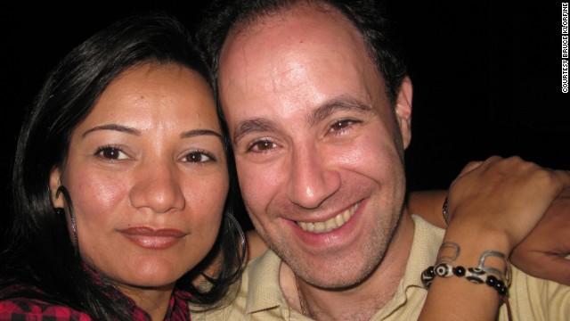 Shriya and Bruce Klorfine.