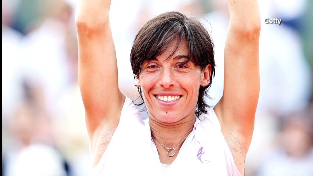 Francesca Schiavone's historic Open win