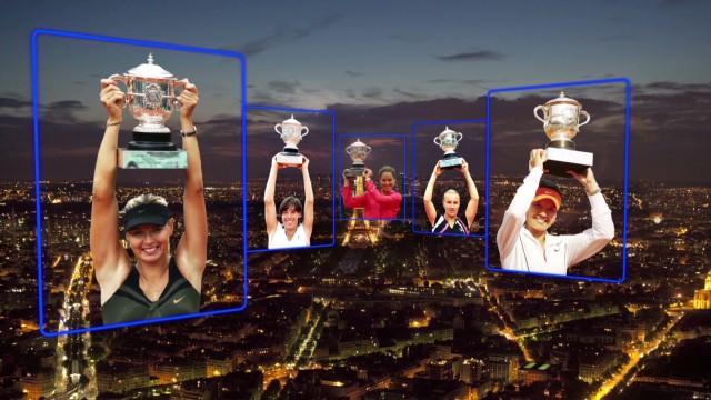 5 champions of Roland Garros