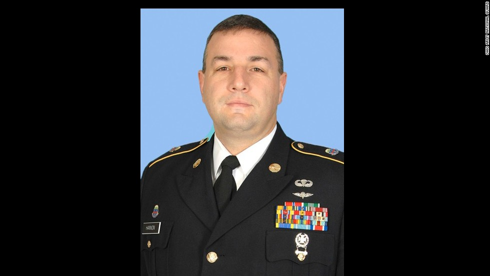 Army Master Sgt. Shawn T. Hannon was 44 when he died last year in Afghanistan from wounds caused by an improvised explosive device.