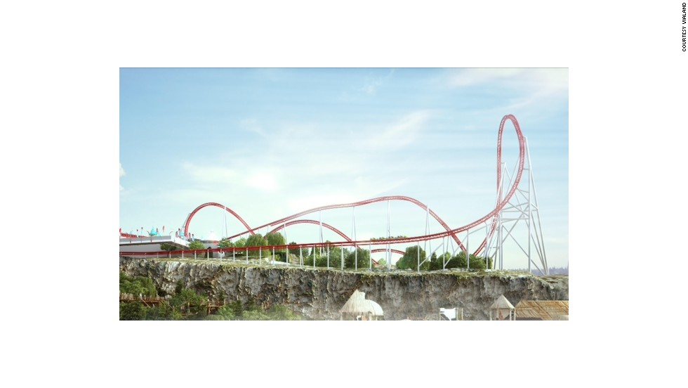 Located inside Istanbul's newest theme park, Nefeskesen (Breath Taker) reaches 68 mph in just three seconds flat.