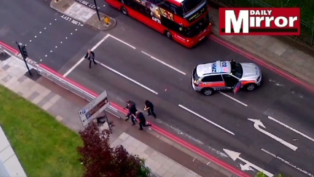 Capture of London terror suspects