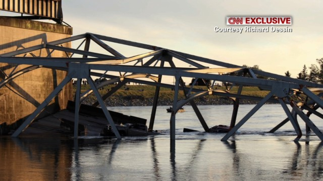 Witness: 'The bridge was just gone'