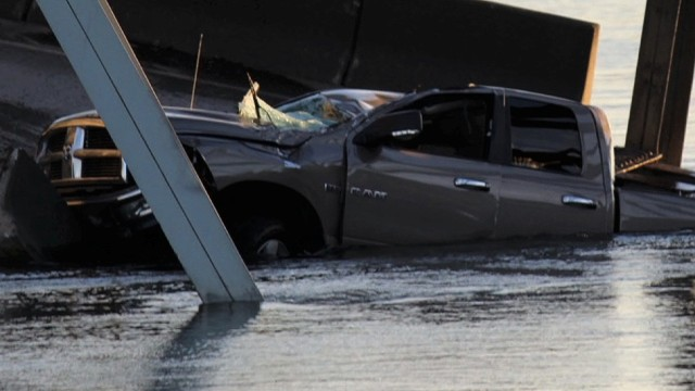 Collapse victim: My truck caved in