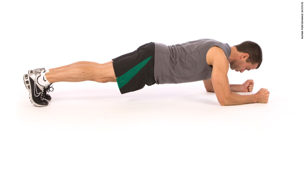 Plank: Works core