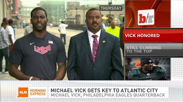 Bleacher Report Update - Vick Gets Key To Altantic City_00005608.jpg