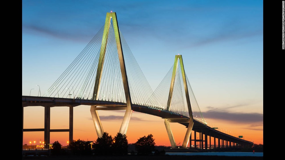 Arthur Ravenel Jr. Bridge, Charleston, South Carolina.