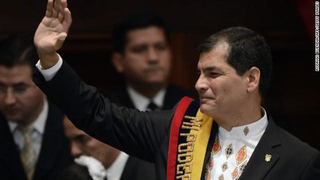 Ecuador's president to defy U.S.?
