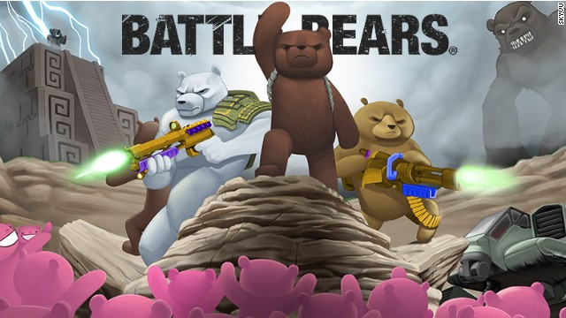 "Since launching for mobile in 2009, ""Battle Bears"" has been downloaded more than 24 million times."