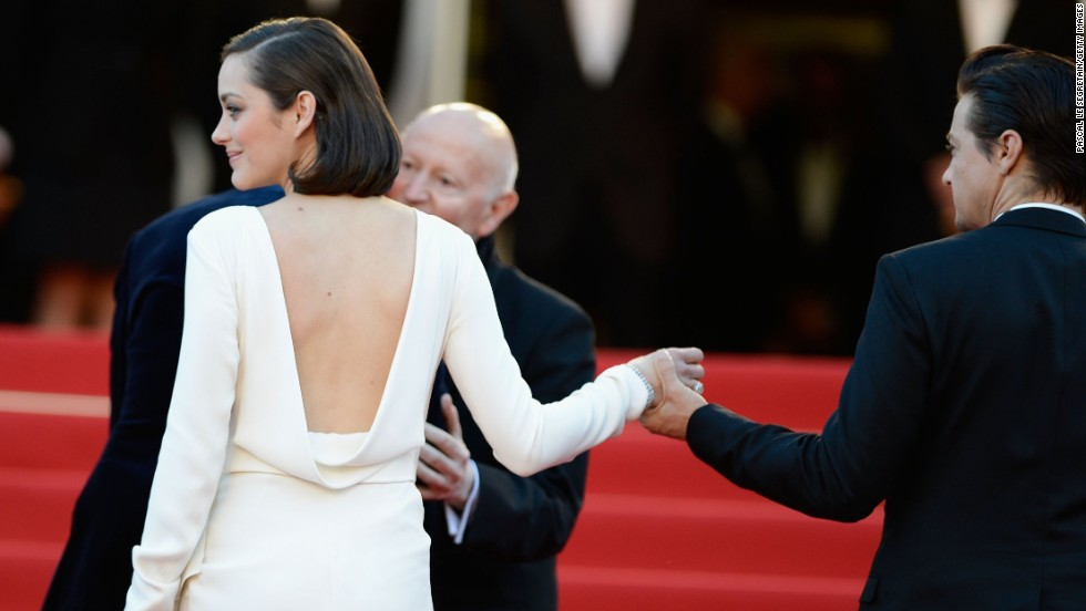 "Marion Cotillard attends the Cannes premiere of ""The Immigrant"" on May 24."