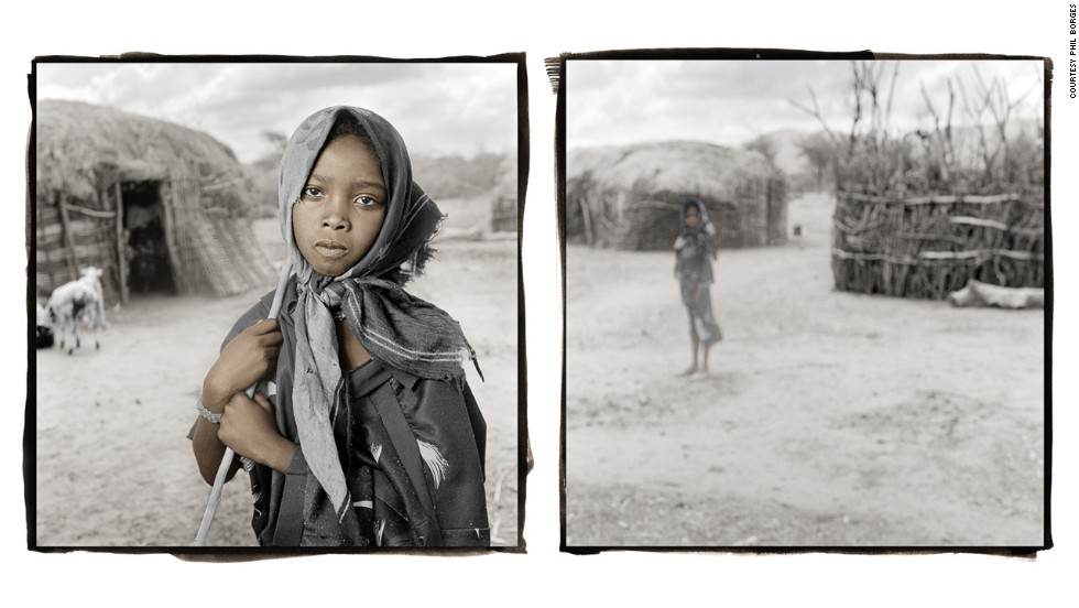 <strong>Dhaki, 11 (Yabelo, Ethiopia)</strong><br />Dhaki's family is part of the Boran tribe, raising cattle and camels in southern Ethiopia. Because of their nomadic lifestyle and heavy workload, Boran children seldom attend school. But recently, a school opened in Dhaki's territory with flexible hours to accommodate the Boran lifestyle. Five months ago, Dhaki became the first person in her family to attend school. It takes her more than an hour to walk there.