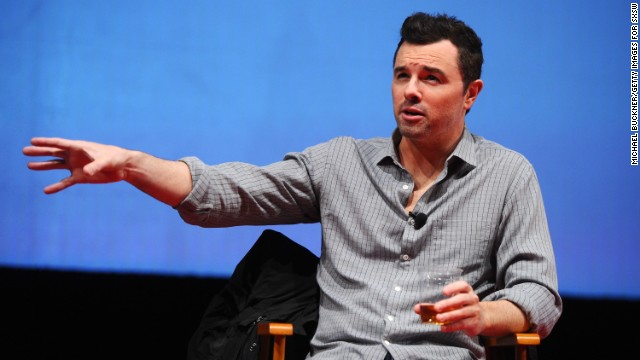 "Seth MacFarlane attends ""A Conversation with Seth MacFarlane"" Panel during the 2012 SXSW Music, Film + Interactive Festival at Austin Convention Center on March 11, 2012 in Austin, Texas.  (Photo by Michael Buckner/Getty Images for SXSW)"
