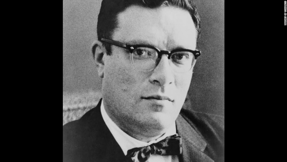 "Science-fiction writer Isaac Asimov <a href=""http://books.google.com/books?id=mATFyeVI7IUC"" target=""_blank"">wrote in his autobiography</a>, ""If I were not an atheist, I would believe in a God who would choose to save people on the basis of the totality of their lives and not the pattern of their words. I think he would prefer an honest and righteous atheist to a TV preacher whose every word is God, God, God, and whose every deed is foul, foul, foul."" He died in 1992 at age 72."