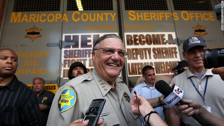 'America's toughest sheriff' Joe Arpaio
