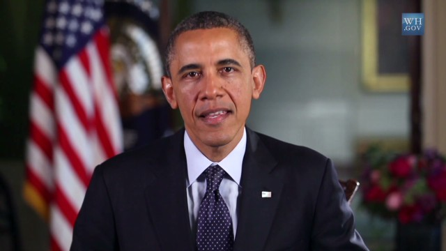 Obama: Hold fallen heroes in your hearts
