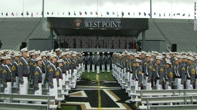 West point commencement New York 2013, Secy Hagel addresses graduating class