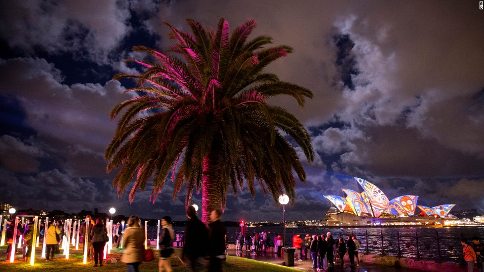"""Vivid Sydney is now the Southern Hemisphere's largest festival of light, music and ideas,"" NSW Deputy Premier Andrew Stoner said."