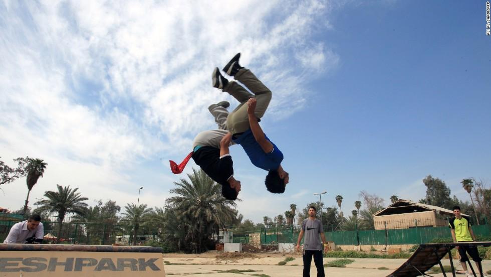 iraq parkour 6
