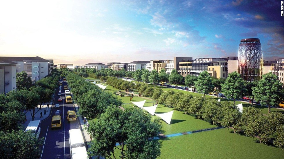 Tatu City, some 15 kilometers north of Nairobi, is being developed by Rendeavour, the urban development branch of Moscow-based Renaissance Group, which is also responsible for several other projects across Africa.
