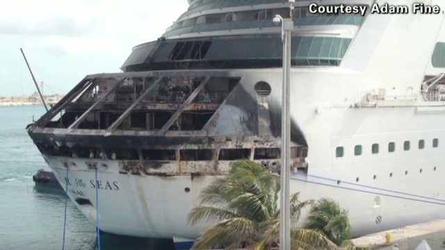 Fires, engine problems plague cruises