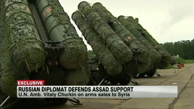 Russian diplomat defends Assad support