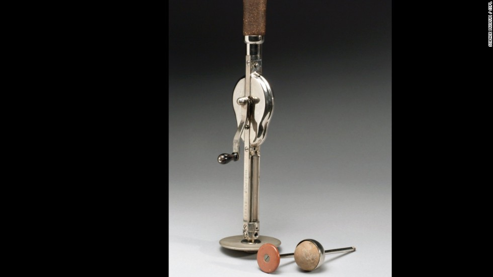"The ""Veedee"" vibratory massager had two attachments. It is German and dates to between 1901 and 1930. Massage was considered an effective treatment for combating almost any ailment in the late 1800s, according to <a href=""http://www.sciencemuseum.org.uk/broughttolife.aspx"" target=""_blank"">the museum's History of Medicine website</a>."