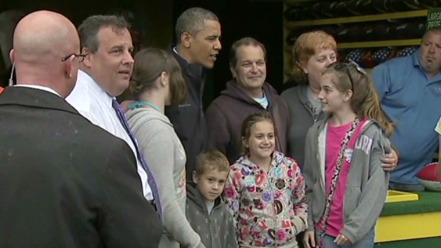 Jersey Shore reunion for Obama, Christie