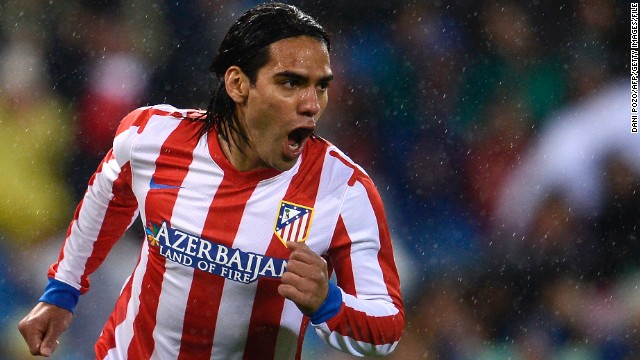 Colombian striker Radamel Falcao fired Atletico Madrid to Spanish Cup triumph earlier this month.