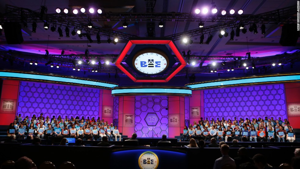 The contest started with 281 contestants from eight nations, narrowed down to 11 spellers for the championship round. This year brought a new challenge for the contestants. For the first time, the bee instituted vocabulary tests during the first and fourth rounds. The competition took place at Gaylord National Resort and Convention Center in National Harbor, Maryland.
