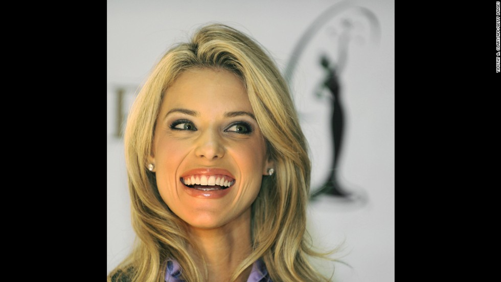 "Carrie Prejean was stripped of her Miss California USA title in 2009 after a <a href=""http://edition.cnn.com/2009/SHOWBIZ/11/04/miss.california.usa.settlement/"">long legal battle</a> with the contest. The contest dethroned her and said lingerie-modeling photos emerged that breached her contract. Prejean sued, claiming that her firing was religious discrimination because of her opposition to same-sex marriage, and the pageant countersued. The conflict ultimately ended after the revelation of a ""sex tape."""