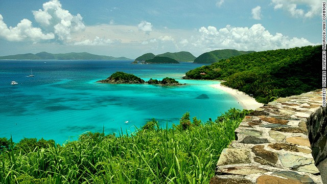 48. Trunk Bay, St. John, U.S. Virgin Islands