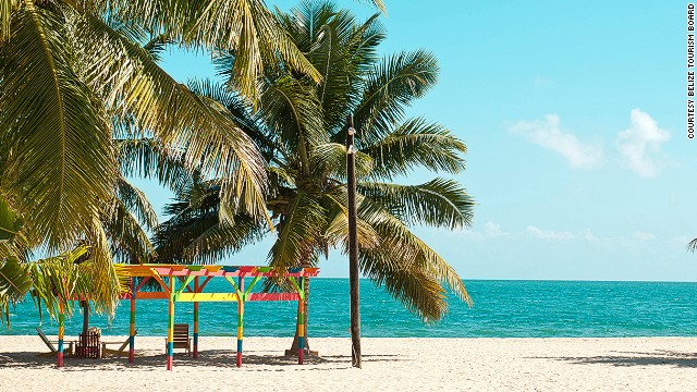 47. Placenia Beach, Belize