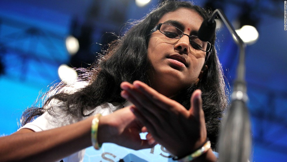"""Snigdha Nandipati won in 2012 with the word """"guetapens,"""" which means an ambush."""