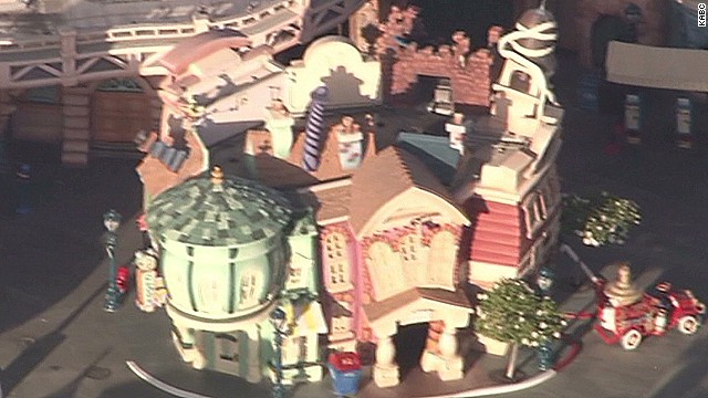 Small explosion at Disneyland