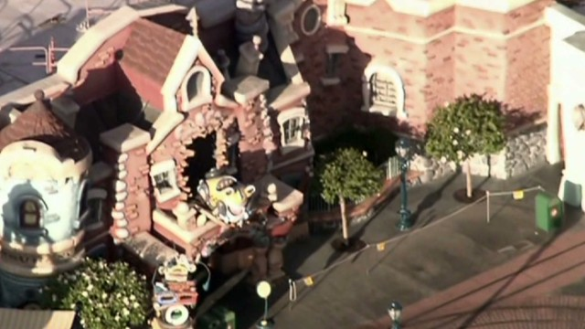 Disneyland worker arrested in explosion