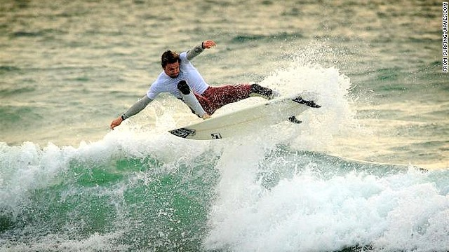 Britain's surf spot of choice.